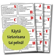 tietokilpailu lapsille Bingo, School Supplies, Language, Bullet Journal, Classroom, Activities, Education, Cards, Ideas