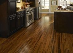 hardwood floors in kitchen 9 16 quot x 5 1 8 quot antique strand handscraped bamboo morning 4160