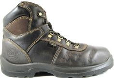 Irish Setter Red Wing Men Steel Toe Boots Size 12 D Brown Style 83618.  GAG 23 #IrishSetter #WorkSafety