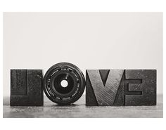 camera lens love black and white photo print - whimsical fine art still life photography, aperture - 14x11 on Etsy, $40.00