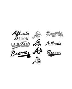Atlanta Braves SVG, DXF and EPS Cutting Files Silhouette vinyl cut Files, for Cameo and Cricut Explore machines - My Svg Cuts - Svg Files, Free Svg Files, Svg Cuts Braves Game, Braves Baseball, Baseball Players, Hockey, Football, Baseball Shirts, Atlanta Braves Shirt, Baseball Game Outfits, Be Brave Tattoo