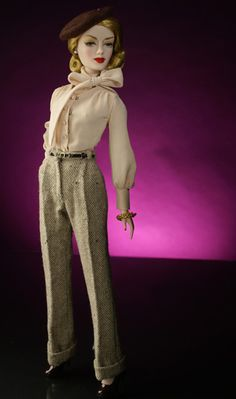 "Gene Marshall, Lady Director, Ivy ""Vee J."" Jordan Dressed Doll, Ltd. Edition 150 Dolls, Gene Marshall Convention XIII Exclusive"