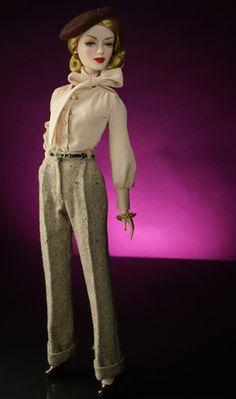 "Gene Marshall, Lady Director, Ivy ""Vee J."" Jordan Dressed Doll, Ltd. Edition 150 Dolls, Gene Marshall Convention XIII Exclusive"