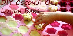 DIY Coconut Oil Lotion Bars | VeggieConverter