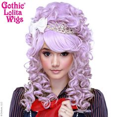 RockStar Wigs Store Marie Antoinette Collection - Creamy Lavender – Gothic…