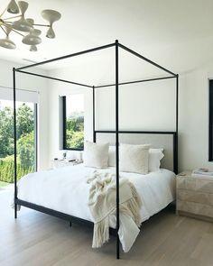 Dream Bedroom, Home Bedroom, Master Bedroom, Bedroom Decor, Canopy Bedroom, Design Room, Home Interior, Interior Design, Apartment Decoration