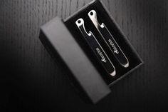 Exuvius titanium multi-tool collar stays. $30