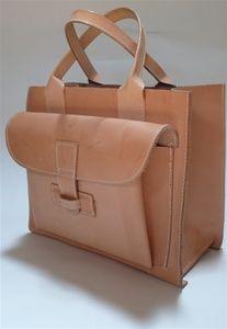 Agnes Baddoo Leather Tote