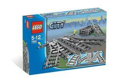 #Lego #LEGO® #7895   LEGO City Weichen  Grau     Hier klicken, um weiterzulesen.  Ihr Onlineshop in #Zürich #Bern #Basel #Genf #St.Gallen