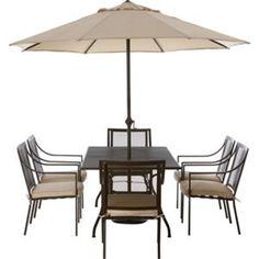 Rimini 6 Seater Garden Furniture Set