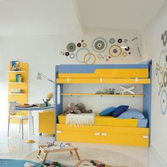 Explore the collection of our funky bunk that are available in a of both bright and colors. Choose the desired color in contrast or matching to the of the house. Funky Bedroom, Modern Kids Bedroom, Childrens Bedroom Furniture, Modern Bunk Beds, Kids Room Furniture, Teenage Beds, Kids Bunk Beds, Loft Spaces, Bed Mattress