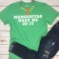 Margaritas Made Me Tee, margs, margaritas, drink, day drinking, cinco de mayo, cinco de drink, mexico, summer, river shirt, summer shirt, by cuteamaloons on Etsy https://www.etsy.com/listing/460557990/margaritas-made-me-tee-margs-margaritas