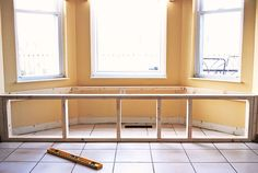 How to build a window seat from At The Picket Fence