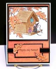 """Trick or Tweeting"" by Curt OBrien on House-Mouse Designs®"