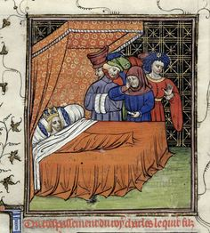 Death of Charles V After 1380
