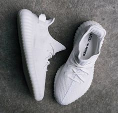 Adidas Yeezy Boost 350 V2, White/Cream White. Releasing Saturday 29 April 2017. ,Adidas shoes #adidas #shoes
