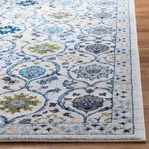 Pelham Floral Ivory & Blue Rug 8'x10'