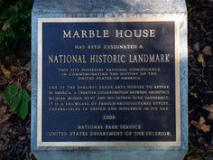 "Marble House | Newport, RI ""Cottage"" built by William K. Vanderbilt for his wife Alva is designated a National Historic Landmark."