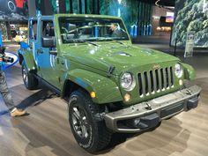 Sarge Green 2016 Jeep Wrangler