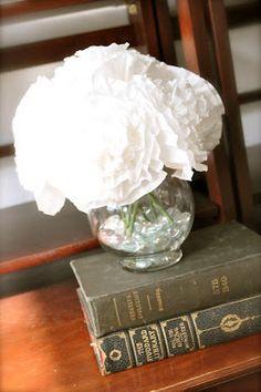 spring coffee filter flowers {tutorial} | Little Birdie Secrets