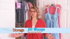 Bedroom Closet: Ideas for Shared Closet  some interesting ideas but neither of these people have many clothes
