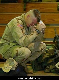 An American Soldier's Pain