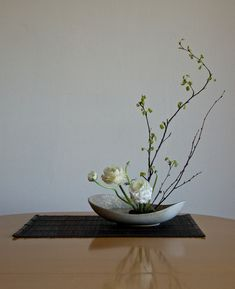 https://flic.kr/p/boAMKh | nordiclotus_20120305a | Birch branches and Ranunculus. Midcentury ceramic bowl by Carl-Harry Stålhane for Rörstrand Atelje, Sweden.