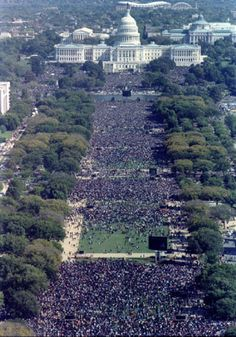 Washington DC had never seen a turnout for a president's inaugration like it witness for President Obama inauguration in 2009.