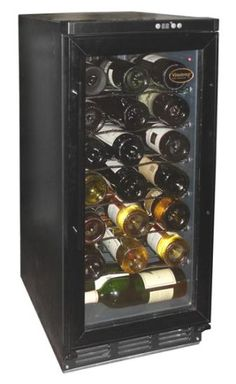 Vinotemp 32 Bottle Built In Wine Cooler - Black Black Kitchens, Cool Kitchens, Built In Wine Cooler, Furniture Styles, Wine Rack, Wines, Sweet Home, Canning, Cool Stuff