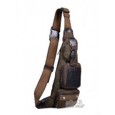 Single strap backpack