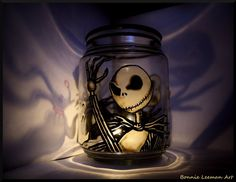 jack skellington | Jack Skellington Candle Holder by ~Bonniemarie on deviantART