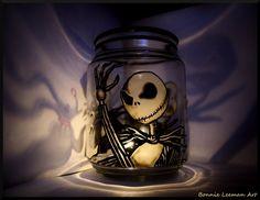 jack skellington   Jack Skellington Candle Holder by ~Bonniemarie on deviantART