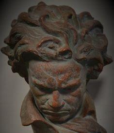 Ugo Cipriani (1887-1960), Buste de Beethoven.