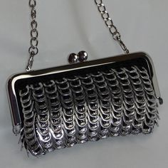 Pop Tab Evening Bag $90.00