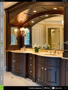 Awesome vanity