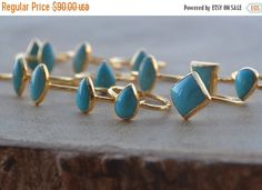 XMAS IN JULY Sleeping Beauties /// Turquoise by luxdivine on Etsy