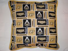 Purdue University Pillow by GoughGoodies on Etsy