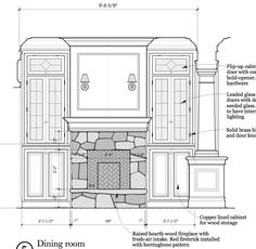 interior elevations interior elevations and interior elevation tag - interior elevation drawing Drawing Room Design, Drawing Interior, Interior Sketch, Living Room Elevation, Interior Design Renderings, Interior Design And Construction, Fireplace Drawing, Elevation Drawing, Construction Documents