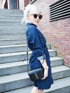 Denim Dress- Das Jeanskleid