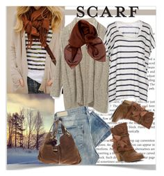 """""""It's a Wrap-Scarf"""" by pat912 ❤ liked on Polyvore featuring Jellypop, Rebecca Minkoff, Levi's, Velvet, Dolce&Gabbana, Jimmy Choo, scarf and polyvoreeditorial"""