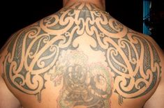Maori back tribal tattoo - 70+ Awesome Tribal Tattoo Designs  <3 !