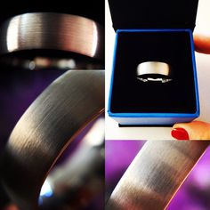 Tungsten Wedding Bands  Tungsten Carbide Rose by RingsParadise