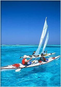 Paradise Island Belize Barrier Reef-Wonderful trip sea kayaking & snorkeling one of the seven underwater wonders of the world.