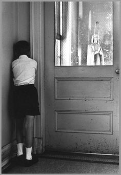 St. Joseph's School For The Deaf, photographed by William Gedney. 1960