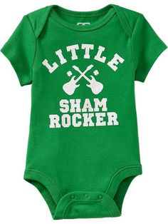 Old Navy | St. Patrick's Day Graphic Bodysuits for Baby