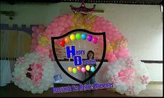 Carroza princesa de globos