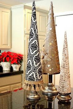 poster board topiaries