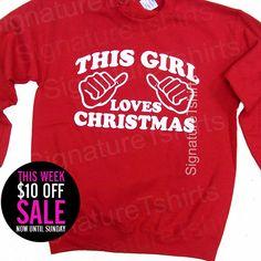 SALE  Christmas Party  Christmas Sweatshirt  by signaturetshirts, $19.95