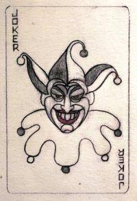 Original Joker card by Jerry Robinson