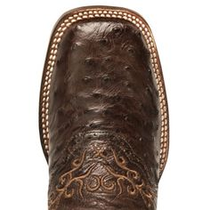Dan Post Black Junction Ostrich Cowgirl Boot - Wide Square Toe. When I get brown boots I want these.